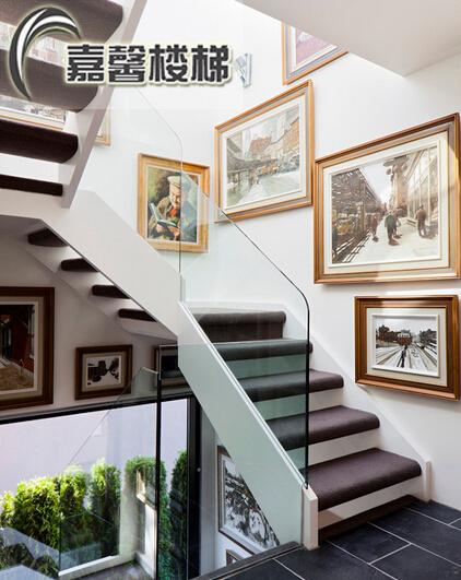 门面楼梯效果图